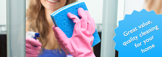 Trustworthy, great value cleaning services